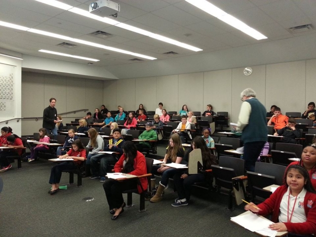 UNT Math Department Offers AMC 8 to Regional Middle Schoolers
