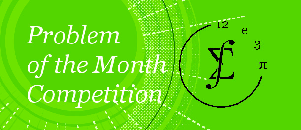 Problem of the Month | Department of Mathematics
